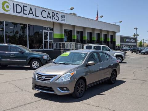 2017 Nissan Versa for sale at Ideal Cars Atlas in Mesa AZ
