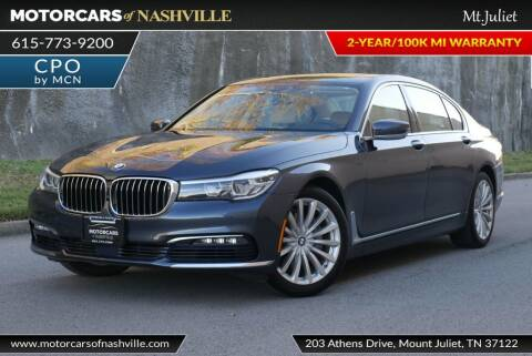 2017 BMW 7 Series for sale at MotorCars of Nashville in Mount Juliet TN