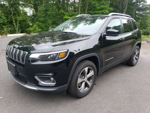 2019 Jeep Cherokee for sale at KLC AUTO SALES in Agawam MA