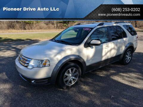 2009 Ford Taurus X for sale at Pioneer Drive Auto LLc in Wisconsin Dells WI