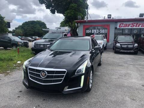 2014 Cadillac CTS for sale at CARSTRADA in Hollywood FL
