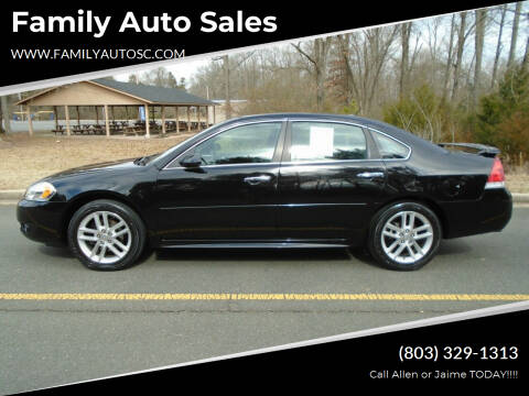 2014 Chevrolet Impala Limited for sale at Family Auto Sales in Rock Hill SC
