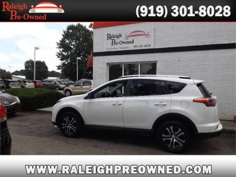 2016 Toyota RAV4 for sale at Raleigh Pre-Owned in Raleigh NC