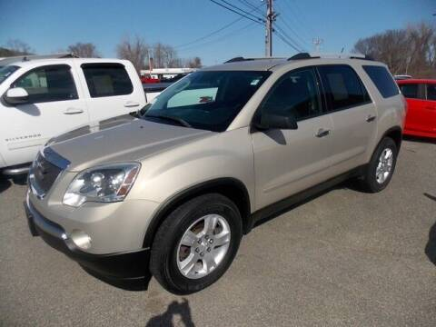 2012 GMC Acadia for sale at Bachettis Auto Sales in Sheffield MA