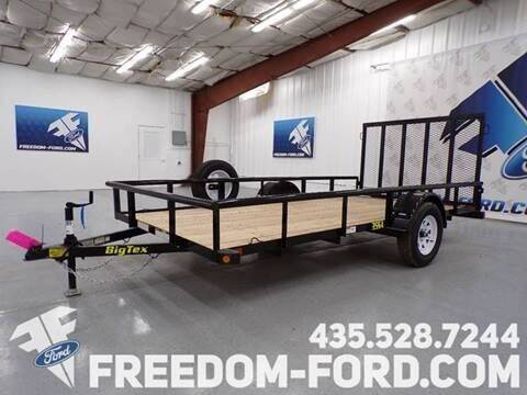 2021 Utility Trailer Big Tex 35SA-12BK for sale at Freedom Ford Inc in Gunnison UT