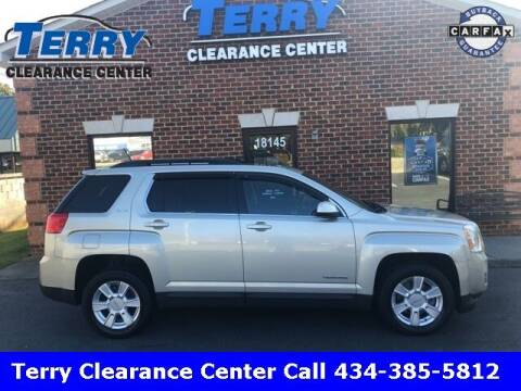 2013 GMC Terrain for sale at Terry Clearance Center in Lynchburg VA