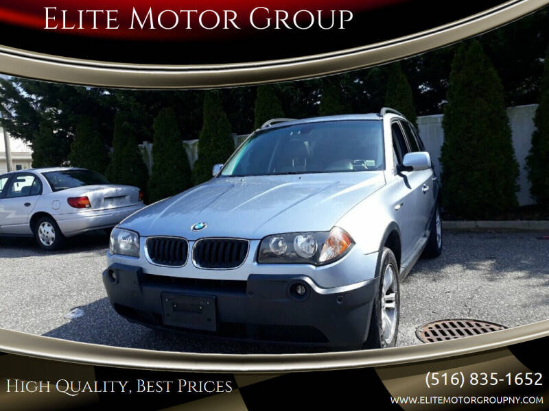 2005 BMW X3 for sale at Elite Motor Group in Farmingdale NY