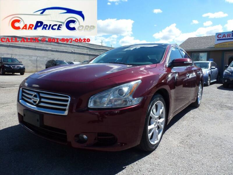 2012 Nissan Maxima for sale at CarPrice Corp in Murray UT