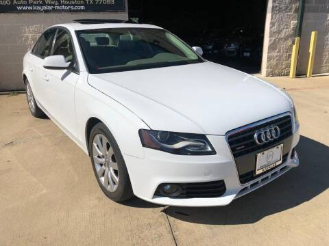 2010 Audi A4 for sale at KAYALAR MOTORS Mechanic in Houston TX