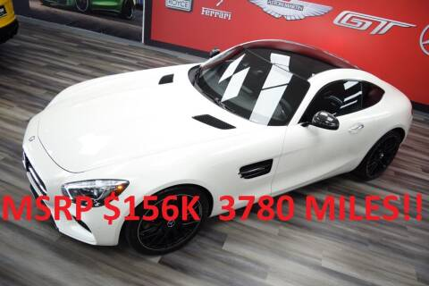 2017 Mercedes-Benz AMG GT for sale at Icon Exotics in Houston TX