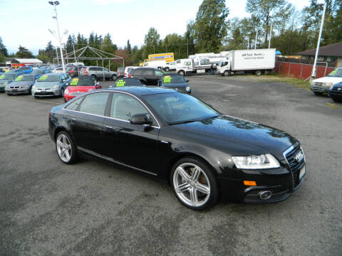 2011 Audi A6 for sale at J & R Motorsports in Lynnwood WA