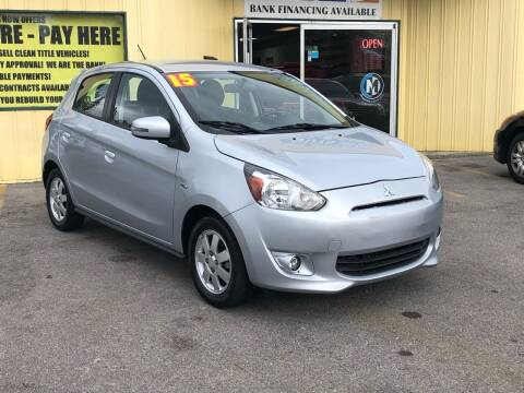 2015 Mitsubishi Mirage for sale at Mr. G's Auto Sales in Shelbyville TN