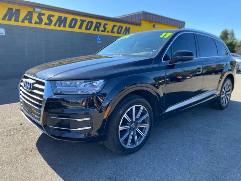 2017 Audi Q7 for sale at M.A.S.S. Motors - MASS MOTORS in Boise ID
