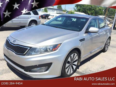 2011 Kia Optima for sale at RABI AUTO SALES LLC in Garden City ID
