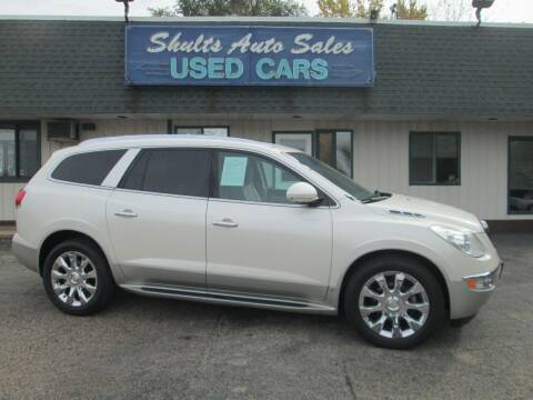 2010 Buick Enclave for sale at SHULTS AUTO SALES INC. in Crystal Lake IL