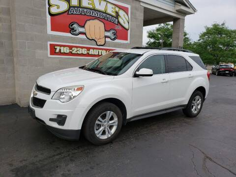 2013 Chevrolet Equinox for sale at Steve's Automotive Inc. in Niagara Falls NY