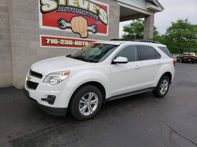 2013 Chevrolet Equinox for sale at Steve's Automotive Inc. in Niagara Falls NY