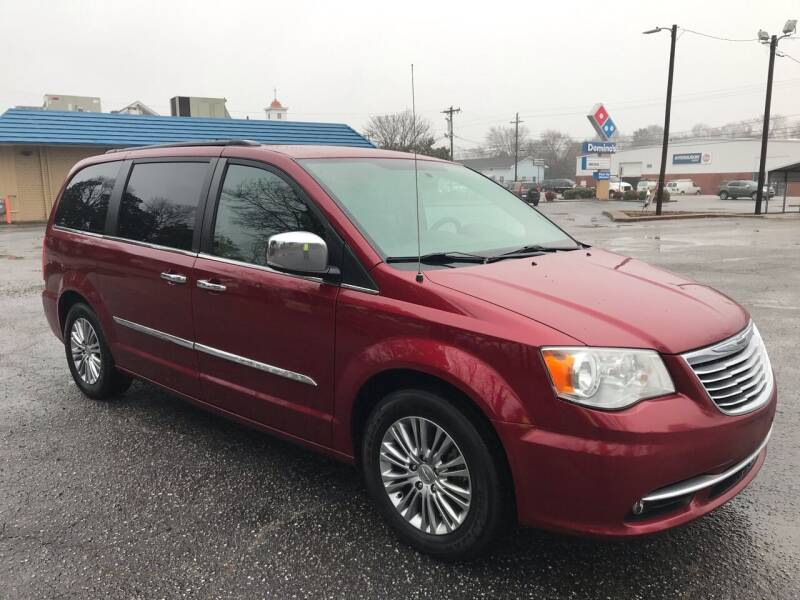 2013 Chrysler Town and Country for sale at Cherry Motors in Greenville SC