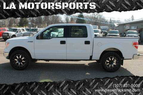 2010 Ford F-150 for sale at LA MOTORSPORTS in Windom MN