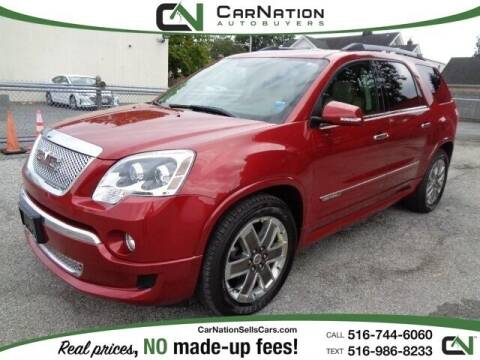 2012 GMC Acadia for sale at CarNation AUTOBUYERS Inc. in Rockville Centre NY