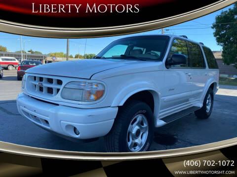 2001 Ford Explorer for sale at Liberty Motors in Billings MT