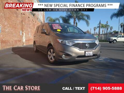 2015 Nissan Quest for sale at The Car Store in Santa Ana CA