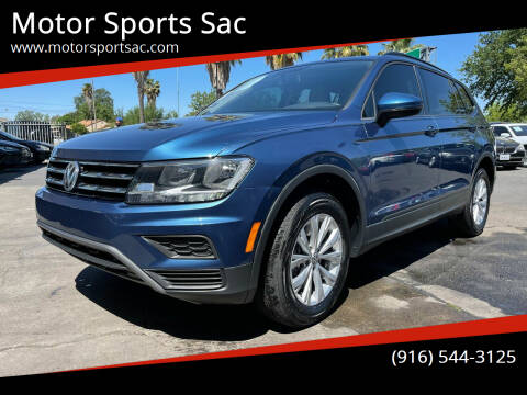 2020 Volkswagen Tiguan for sale at Motor Sports Sac in Sacramento CA