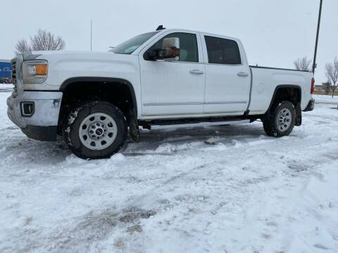 2016 GMC Sierra 2500HD for sale at Canuck Truck in Magrath AB