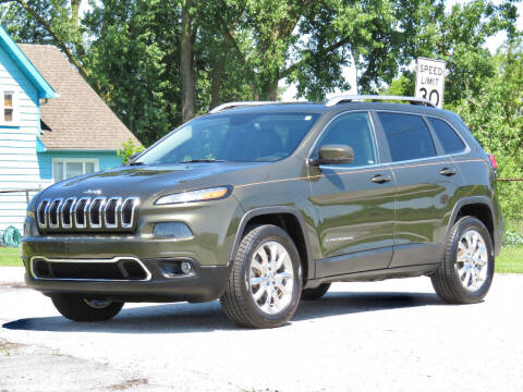 2014 Jeep Cherokee for sale at Tonys Pre Owned Auto Sales in Kokomo IN