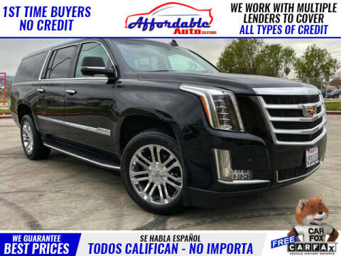 2016 Cadillac Escalade ESV for sale at Affordable Auto Solutions in Wilmington CA