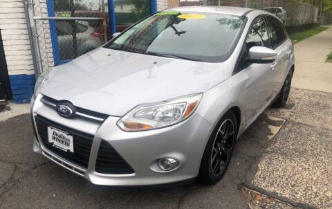 2013 Ford Focus for sale at DEALS ON WHEELS in Newark NJ