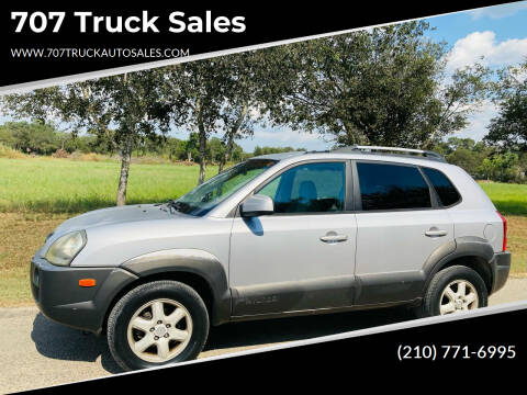 2005 Hyundai Tucson for sale at 707 Truck Sales in San Antonio TX