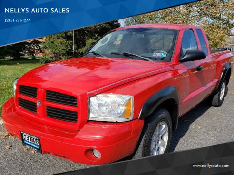 2007 Dodge Dakota for sale at NELLYS AUTO SALES in Souderton PA