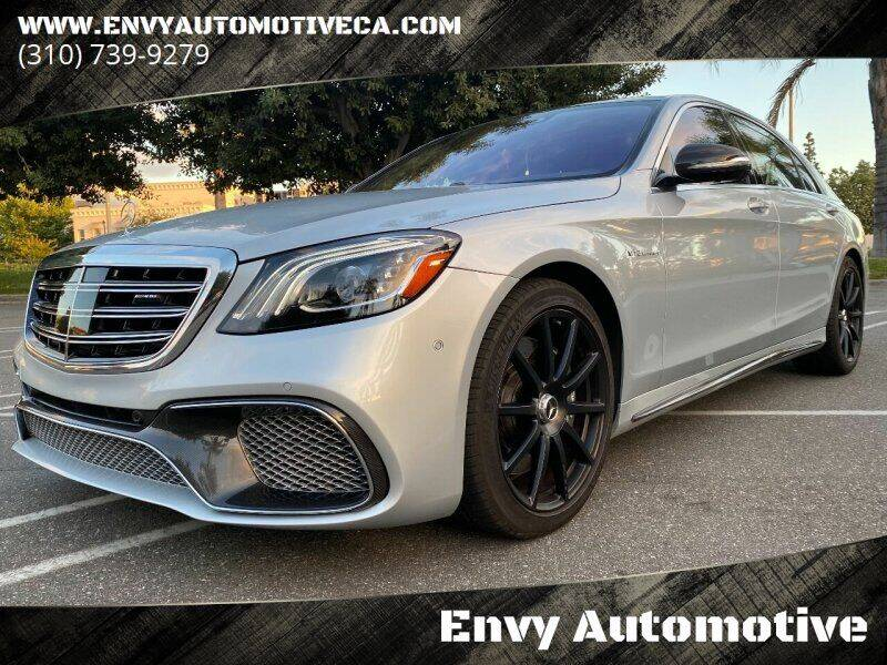 2019 Mercedes-Benz S-Class for sale at Envy Automotive in Studio City CA