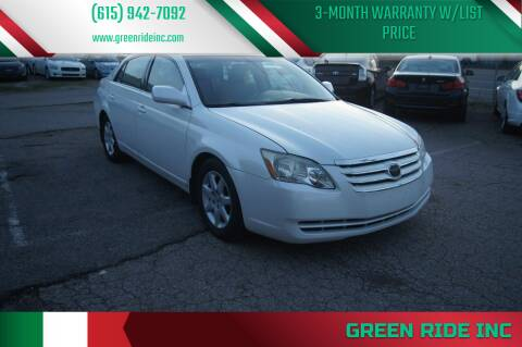 2006 Toyota Avalon for sale at Green Ride Inc in Nashville TN