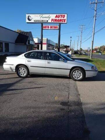 2000 Chevrolet Impala for sale at The Family Auto Finance in Redford MI