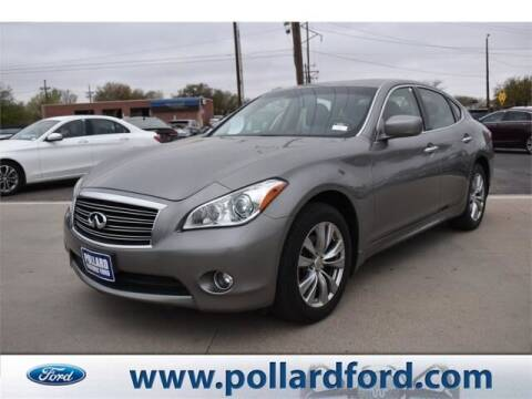 2013 Infiniti M37 for sale at South Plains Autoplex by RANDY BUCHANAN in Lubbock TX