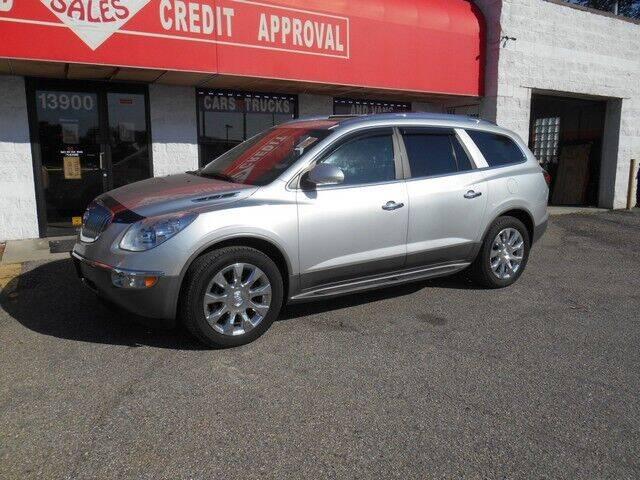 2012 Buick Enclave for sale at Oak Park Auto Sales in Oak Park MI