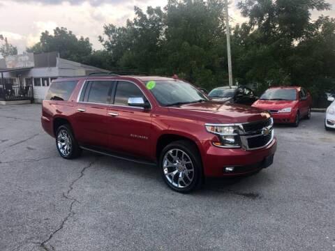 2015 Chevrolet Suburban for sale at LexTown Motors in Lexington KY