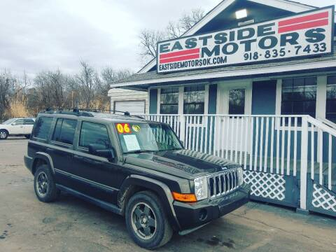 2006 Jeep Commander for sale at EASTSIDE MOTORS in Tulsa OK