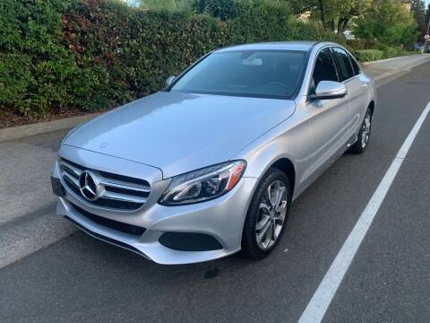 2015 Mercedes-Benz C-Class for sale at LG Auto Sales in Rancho Cordova CA