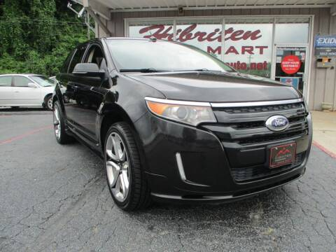 2014 Ford Edge for sale at Hibriten Auto Mart in Lenoir NC