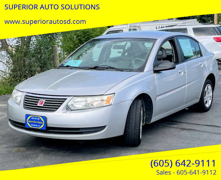 2005 Saturn Ion for sale at SUPERIOR AUTO SOLUTIONS in Spearfish SD