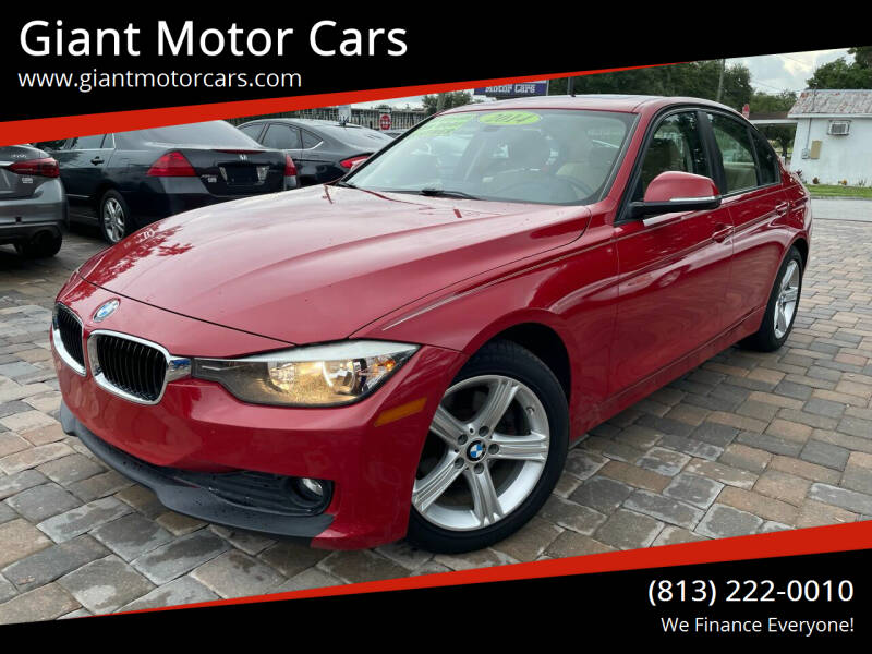 2014 BMW 3 Series for sale at Giant Motor Cars in Tampa FL