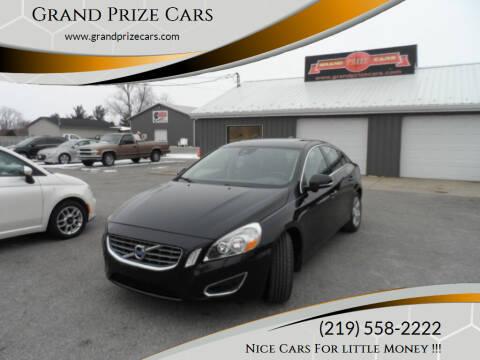 2012 Volvo S60 for sale at Grand Prize Cars in Cedar Lake IN