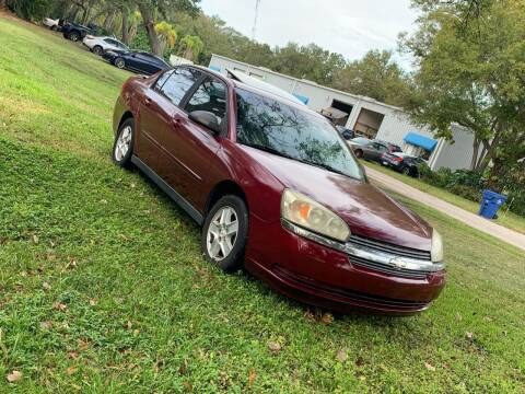 2005 Chevrolet Malibu for sale at Bargain Auto Mart Inc. in Kenneth City FL