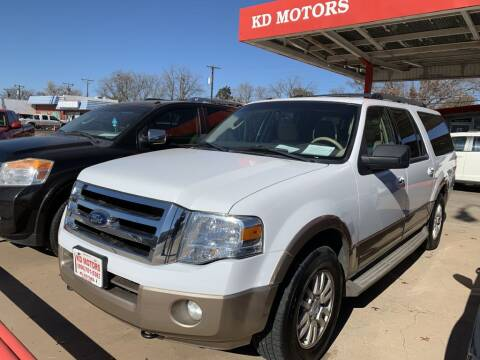 2013 Ford Expedition EL for sale at KD Motors in Lubbock TX
