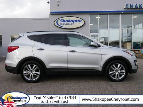 2013 Hyundai Santa Fe Sport for sale at SHAKOPEE CHEVROLET in Shakopee MN