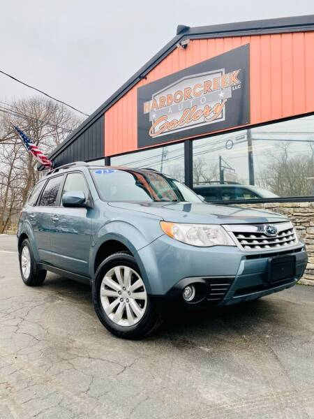 2013 Subaru Forester for sale at Harborcreek Auto Gallery in Harborcreek PA