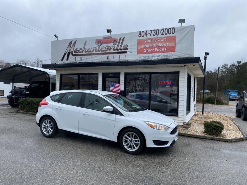 2015 Ford Focus for sale at Mechanicsville Auto Sales in Mechanicsville VA